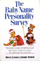 The Baby Name Personality Survey