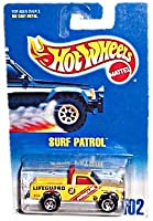 Hot Wheels - Surf Patrol Truck replica - Collector #102 - Vintage 1991 Copyright/Issue - 1:64 Scale - Razor Wheels - Standard Card [並行輸入品]
