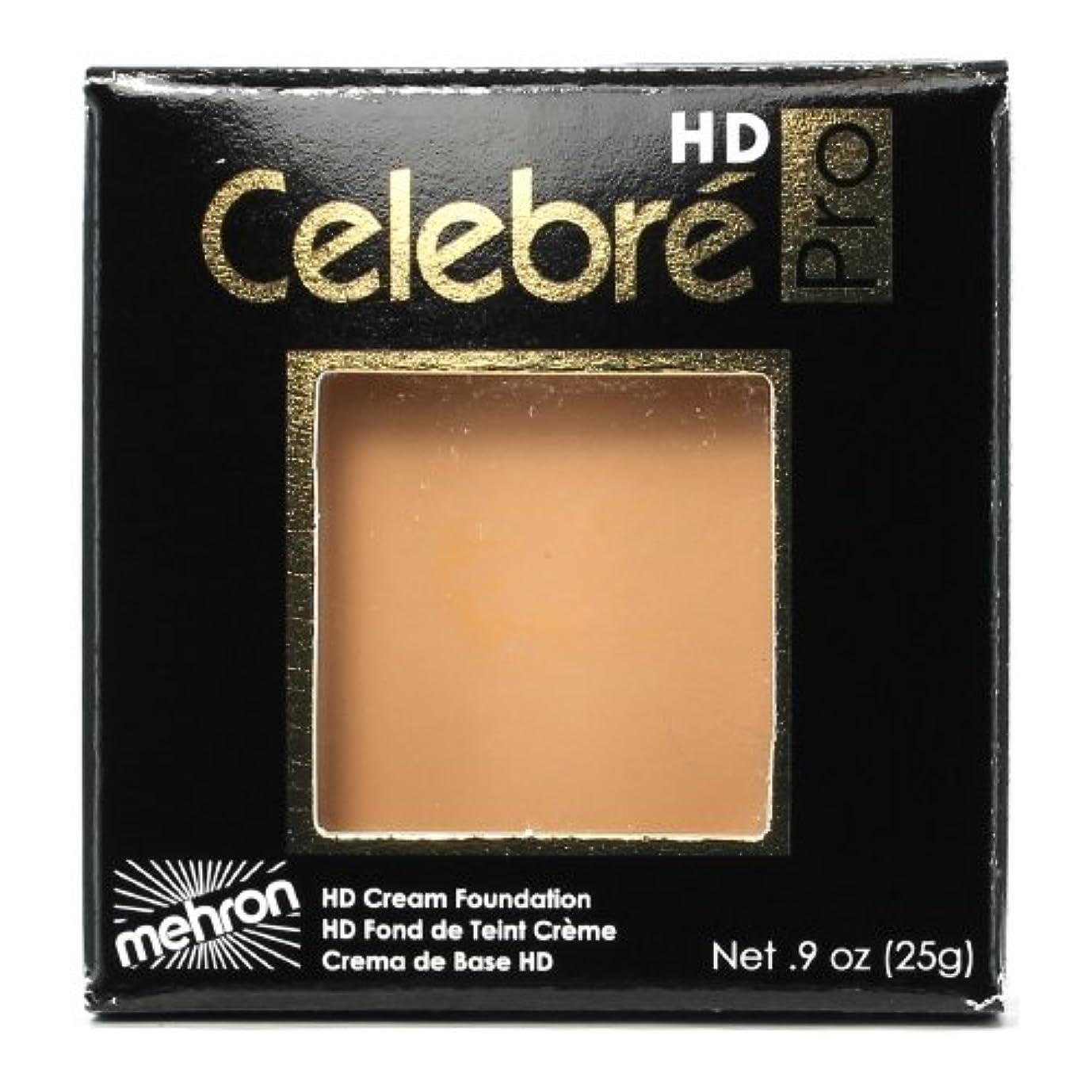 不機嫌ムス閉じ込める(3 Pack) mehron Celebre Pro HD Make-Up - Light 4 (並行輸入品)