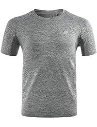 Naturehike トレーニングウェア フィットネスTシャツ メンズ 半袖 吸汗速乾 スポーツシャツ ドライ 抗菌 防臭