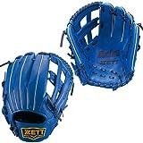 ZETT(ゼット) ソフトボール オールラウンド グラブ(グローブ) デュアルキャッチ (左投げ用) BSGB53520 ブルー