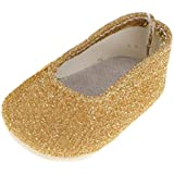 """Baosity 18"""" Dolls Gold Dolly Shoes Fit AG Journey Clothes Accessories"""
