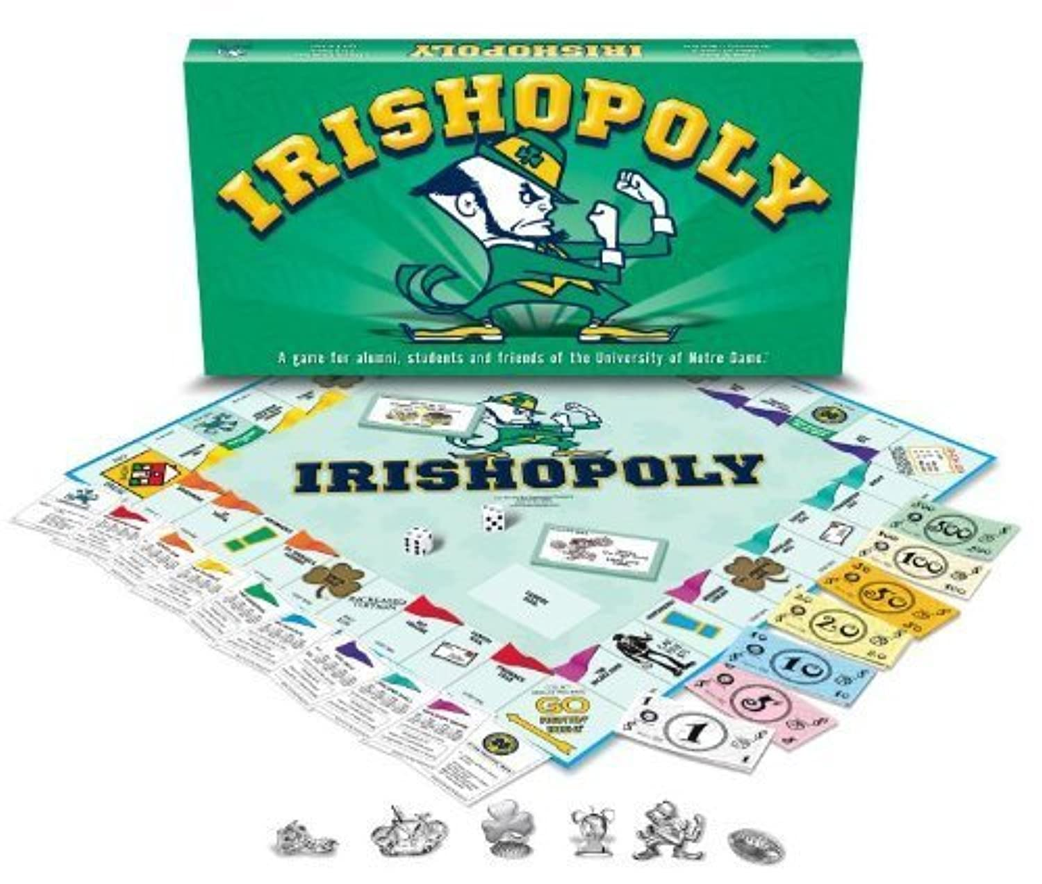 Late For The Sky University Of Notre Dame Monopoly by Sports Images [並行輸入品]