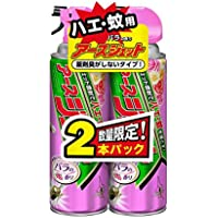 アースジェット バラの香り [ハエ・蚊用 450mLx2本]