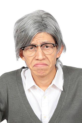 カツランド 白髪おじいさん コスチューム用小物 ウィッグ