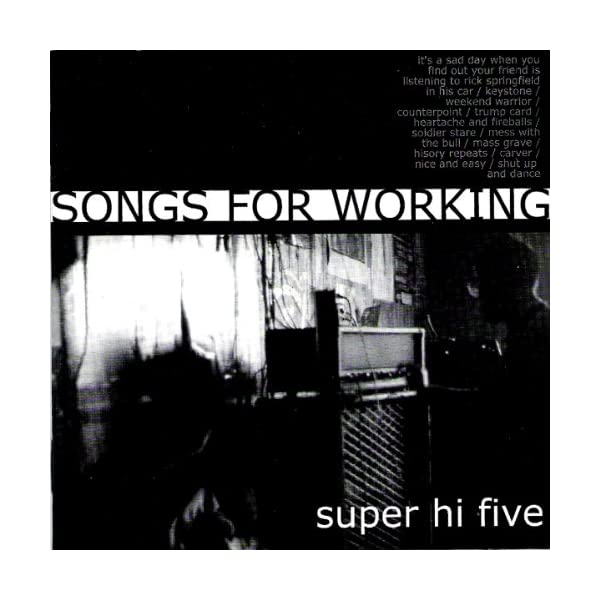 Songs for Workingの商品画像