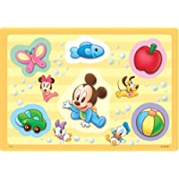 6ピース 子供向けパズル ディズニー はじめてのおきにいり 【チャイルドパズル】