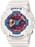 [カシオ]CASIO BABY-G ベビーG 限定モデル アナデジ腕時計 ホワイト レディース BA-112-7A [並行輸入品]