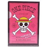 ワンピース 海賊旗クリアファイル ルフィ