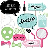 Spa Day - Photo Booth Props Kit - 20 Count [並行輸入品]