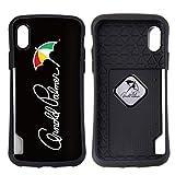 アーノルドパーマー アーノルドパーマー ケース カバー [カラー:2.ロゴ(BK)] iPhonex iPhoneX arnold parmer 電磁波防止シート付 人気 メンズ レディース シンプル