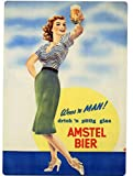 Amstel Bier Girlメタルカウンタ表示–ヨーロッパ