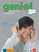 geni@l Klick: Lehrerhandbuch A2 mit integrierten Kursbuch