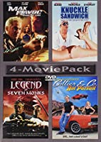 MAX HAVOC / KNUCKLE SANDWICH / LEGEND OF SEVEN MONKS / COLLIER & CO. (4-MOVIE PACK)