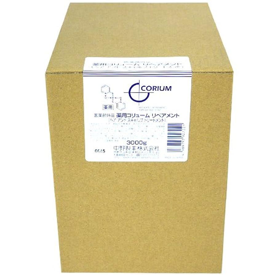 摂動鋼旅ナカノ 薬用 コリューム リペアメント 3000g