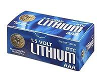 ASP AAA 1.5V リチウム電池 50 Pack ブルー