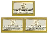 Khadi Natural Chandan-haldi Soap, 125g (Pack Of 3) by Khadi Natural (Ship from India)