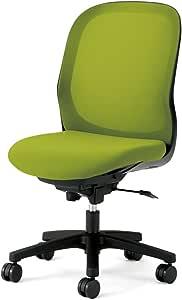 プラス デスクチェア オフィスチェア フィータ fita 肘なし KC-FT60ML リーフグリーン 657-670