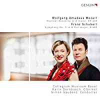 Mozart Clarinet Concert / Symphony No 5 by MOZART / SCHUBERT (2010-08-30)