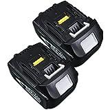 ジョウヒン 2セット MAKITA マキタ BL1830 18V 3000mAh リチウムイオン 互換バッテリー 18V 工具対応
