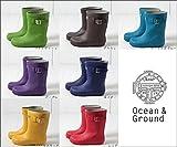Ocean&Ground オーシャンアンドグラウンド レインブーツ 1514501