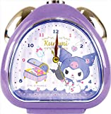 ティーズファクトリー 目覚まし時計 おむすびクロック サンリオ ハピネスガール クロミ 6×13.7×13.5cm SR-5520286KU