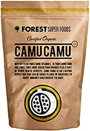Forest Super Foods Certified Organic Premium Camu Camu 250g Direct From Peru (90 day supply)