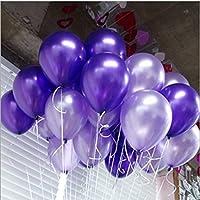 風船 HAOUN お誕生日会 結婚式 パーティー 子供会  文化祭 卒業式 バルーン 100個 セット 25cm (アソートカラー)