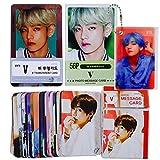 BTS V - 防弾少年団 V キム・テヒョン 写真メッセージカード 56枚 新バージョン