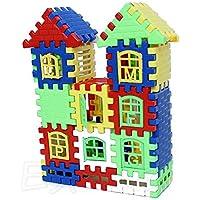 Upupo 子供用 ブリックハウス 子供用 組み立てブロック 学習玩具 面白い組み立てセット