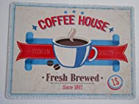 アンティーク調メタルサインプレート バーカフェ コーヒーハウス 並行輸入品