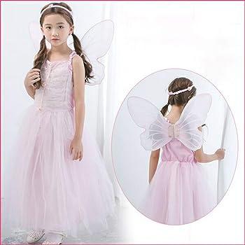 6b6ef91268cde 花の妖精 チュチュワンピース キッズ 子供 女の子Halloween 演出服 お姫様 プリンセス コスプレ衣装
