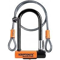 Kryptonite Evolution mini-7Heavy Duty自転車UロックW / 4' Kryptoflexダブルループ自転車ケーブル