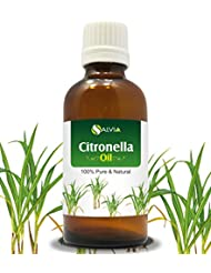 CITRONELLA OIL 100% NATURAL PURE UNDILUTED UNCUT ESSENTIAL OIL 50ML