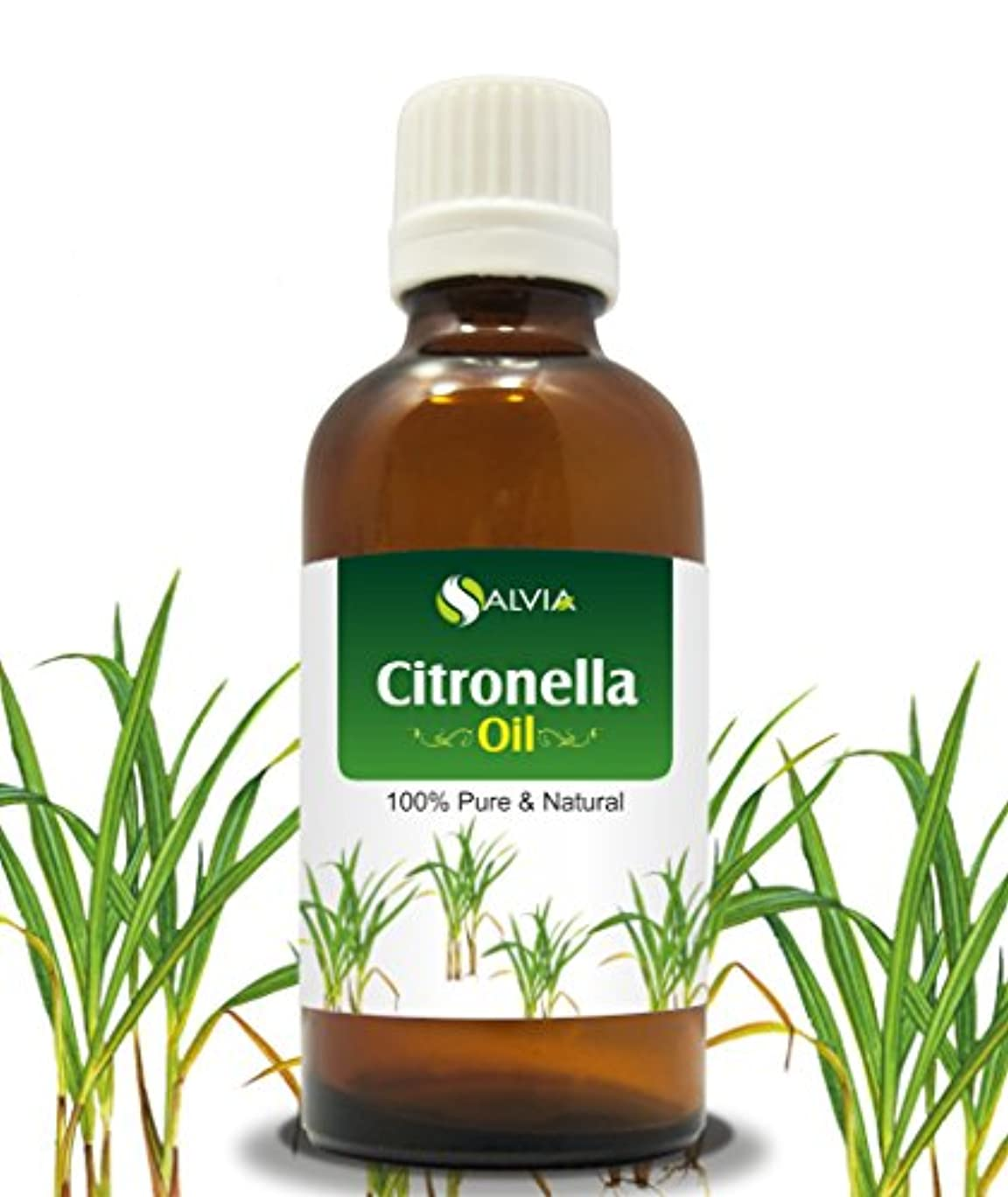 純粋に楽観入るCITRONELLA OIL 100% NATURAL PURE UNDILUTED UNCUT ESSENTIAL OIL 30ML