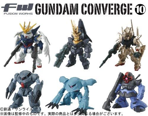 FW GUNDAM CONVERGE 10 10個入 BOX (食玩)
