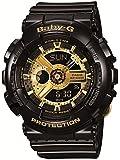 ベビーG カシオ Baby-G CASIO レディース 腕時計 アナログ BA-110-1ADR ブラック/ゴールド 【並行輸入品】 [時計]