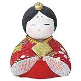 柚子舎 ちりめんおひな畑 錦座り雛 姫 [高さ4.5cm] 雛祭り 桃の節句 かわいい プレゼント