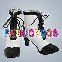 ★サイズ選択可★女性23.5CM UA1467 うたの☆プリンスさまっ♪ マジLOVEレボリューションズ 美風藍 コスプレ靴 ブーツ