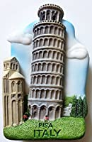 Leaning Tower of PISA ITALY High Quality Resin 3D fridge Refrigerator Thai Magnet Hand Made Craft. by Thai MCnets
