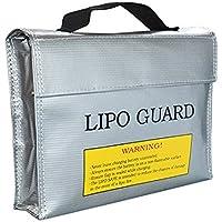 リポガード LiPo Guard Bag リポ バッテリー 保管 LiPo Bag セーフティーバッグ リポバッテリー袋 リポ バッテリー 保管 ケース 防爆バッグ LiPo Safe Bag 240x65x180mm