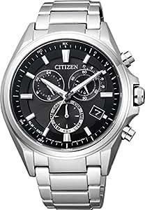 [シチズン]CITIZEN 腕時計 ATTESA アテッサ Eco-Drive エコ・ドライブ 電波時計 クロノグラフ AT3050-51E メンズ