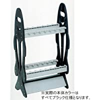 FINE JAPAN(ファインジャパン) ロッドスタンド ロッドスタンド RS-8122 RS8122 ブラック 44cm×25cm×80cm