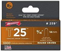 矢印t25Staplesボックス5000 2 Pack 259
