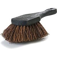 Carlisle 3651300 Sparta Utility Scrub Brush, Plastic Handle, 2'-Long Palmyra Bristles, 8-1/2' L x 3' W (Case of 12) [並行輸入品]