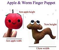 ぬいぐるみ 指人形、赤ちゃん物語時間小道具2個の指人形セットソフト動物のスタイル教育玩具カラフル