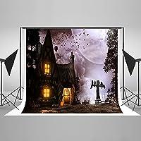 Night Halloween写真の背景幕背景フォトスタジオ小道具パンプキンランタンハロウィンに