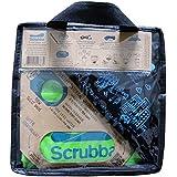 Scrubba Washbag スクラバウォッシュバッグ アウトドア用携帯洗濯袋 2017年最新モデル+トラベルセット(脱水用タオル、物干しロープ、ハンガー、パッキング用バッグ)