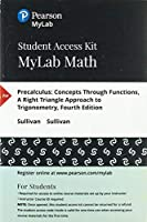 MyLab Math with Pearson eText - Standalone Access Card - for Precalculus: Concepts Through Functions A Right Triangle Approach to Trigonometry (4th Edition)【洋書】 [並行輸入品]