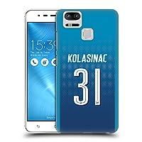 オフィシャル Arsenal FC Sead Kolašinac 2017/18 プレイヤーズ・アウェーキット グループ 2 Zenfone 3 Zoom ZE553KL 専用ハードバックケース